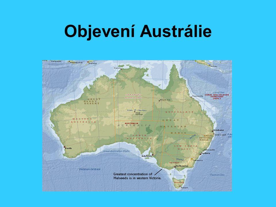 Objevení Austrálie