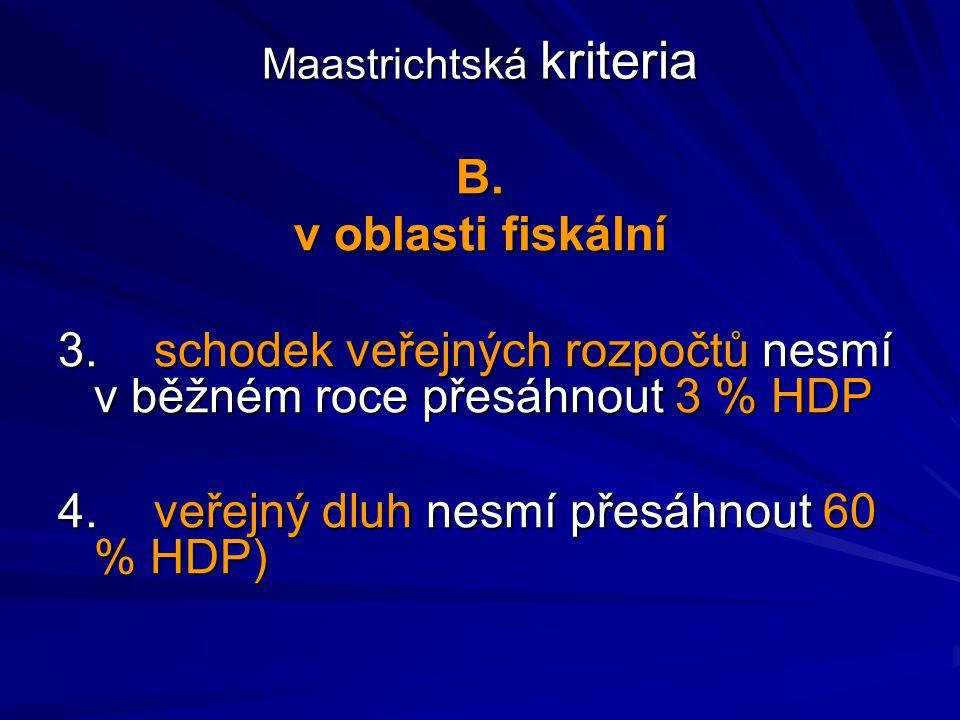 Maastrichtská kriteria