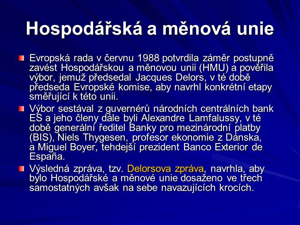 Hospodářská a měnová unie
