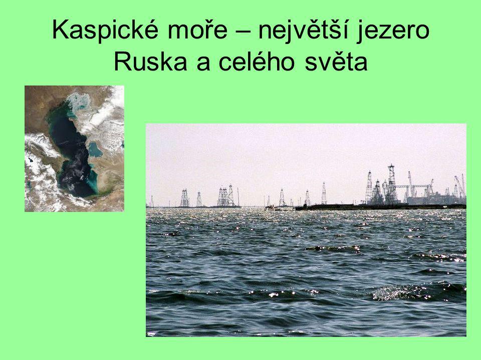 Kaspické moře – největší jezero Ruska a celého světa