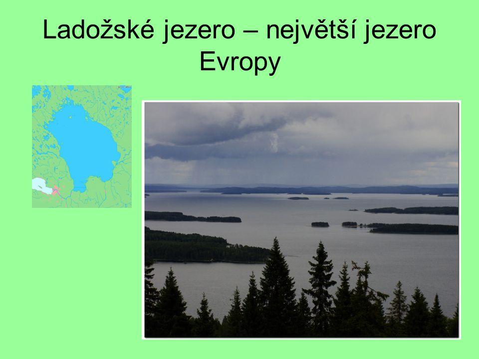 Ladožské jezero – největší jezero Evropy