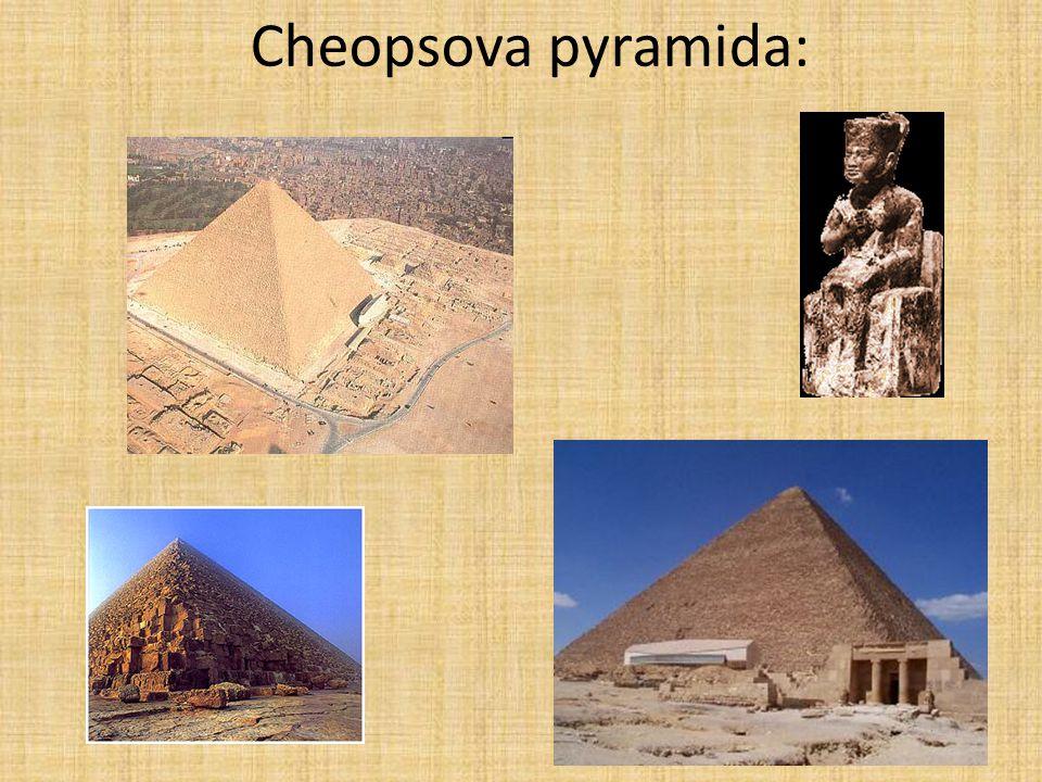 Cheopsova pyramida: