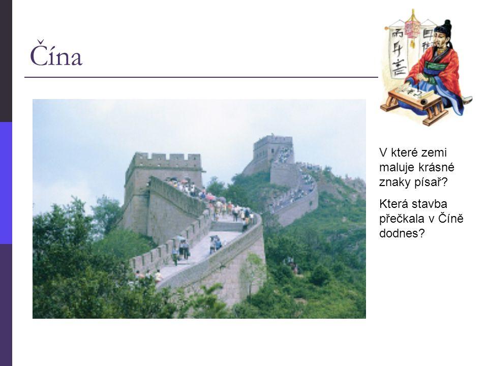 Čína V které zemi maluje krásné znaky písař