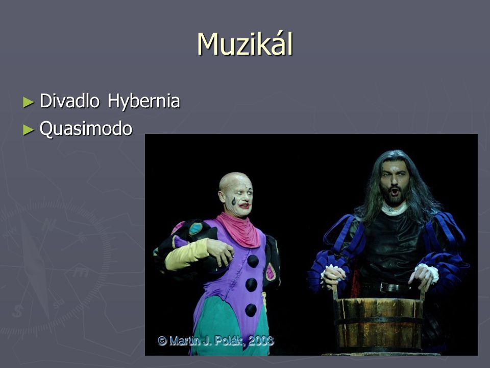Muzikál Divadlo Hybernia Quasimodo