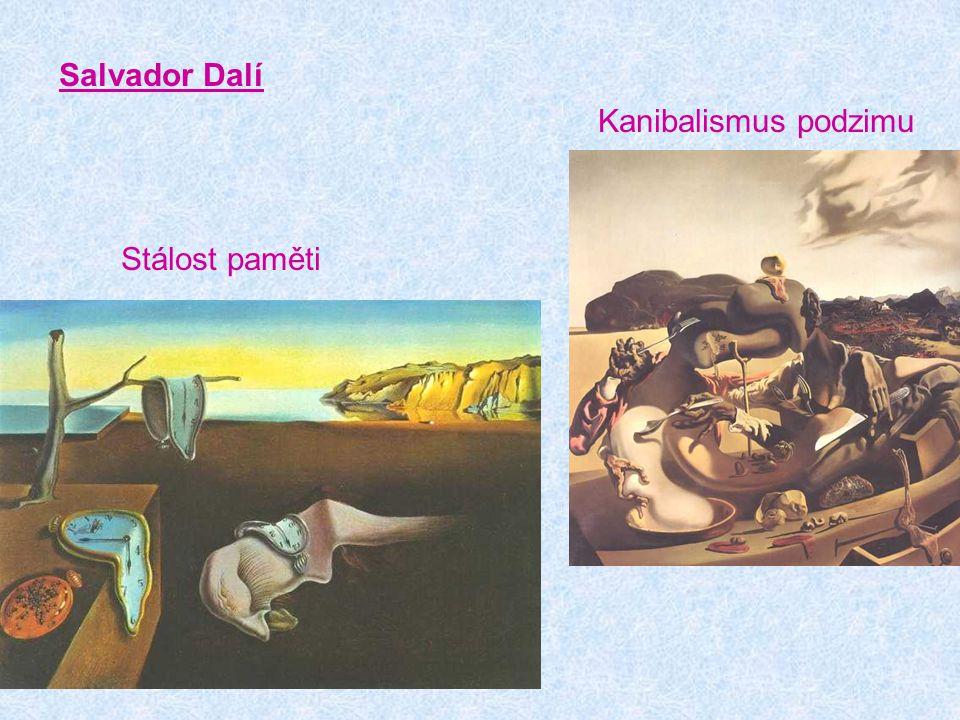 Salvador Dalí Kanibalismus podzimu Stálost paměti