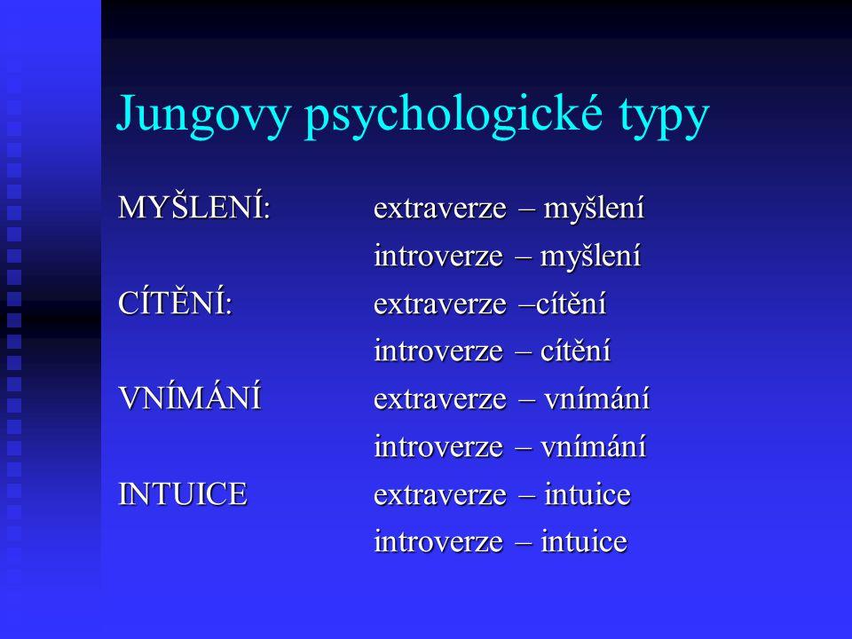 Jungovy psychologické typy