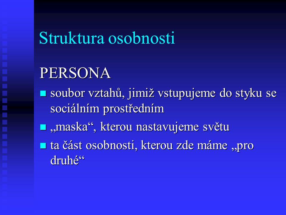 Struktura osobnosti PERSONA