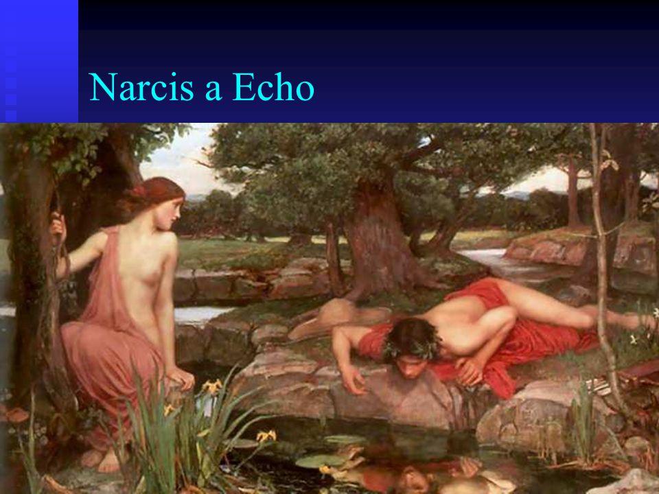 Narcis a Echo