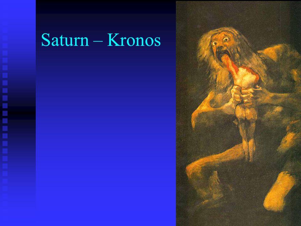 Saturn – Kronos