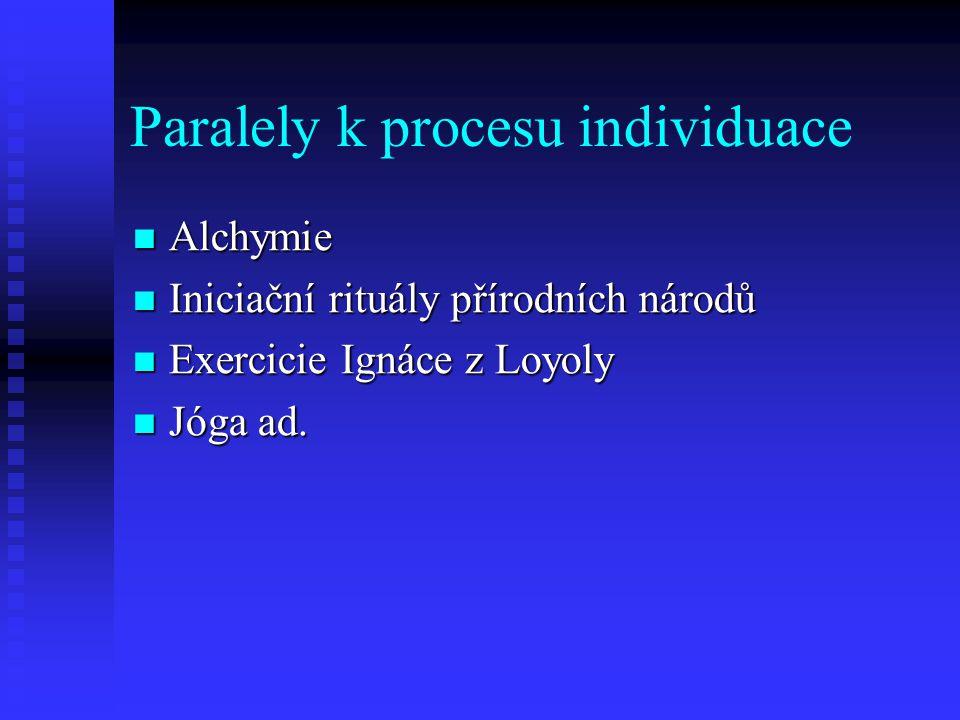 Paralely k procesu individuace