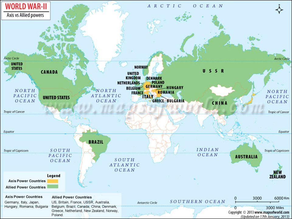 Druhá světová válka / svět