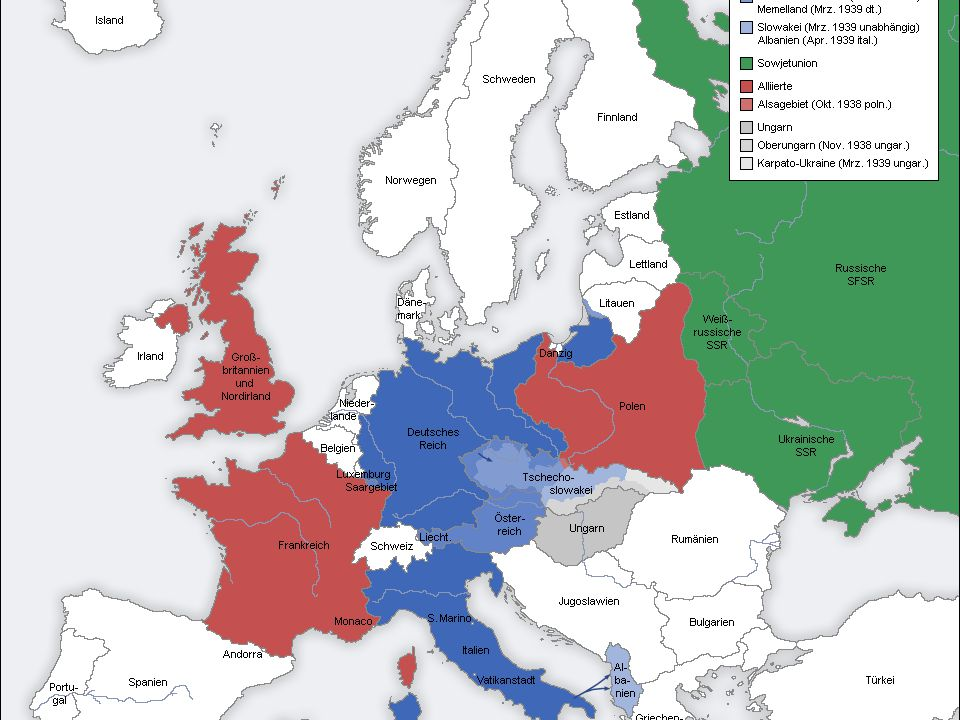 Druhá světová válka / Evropa