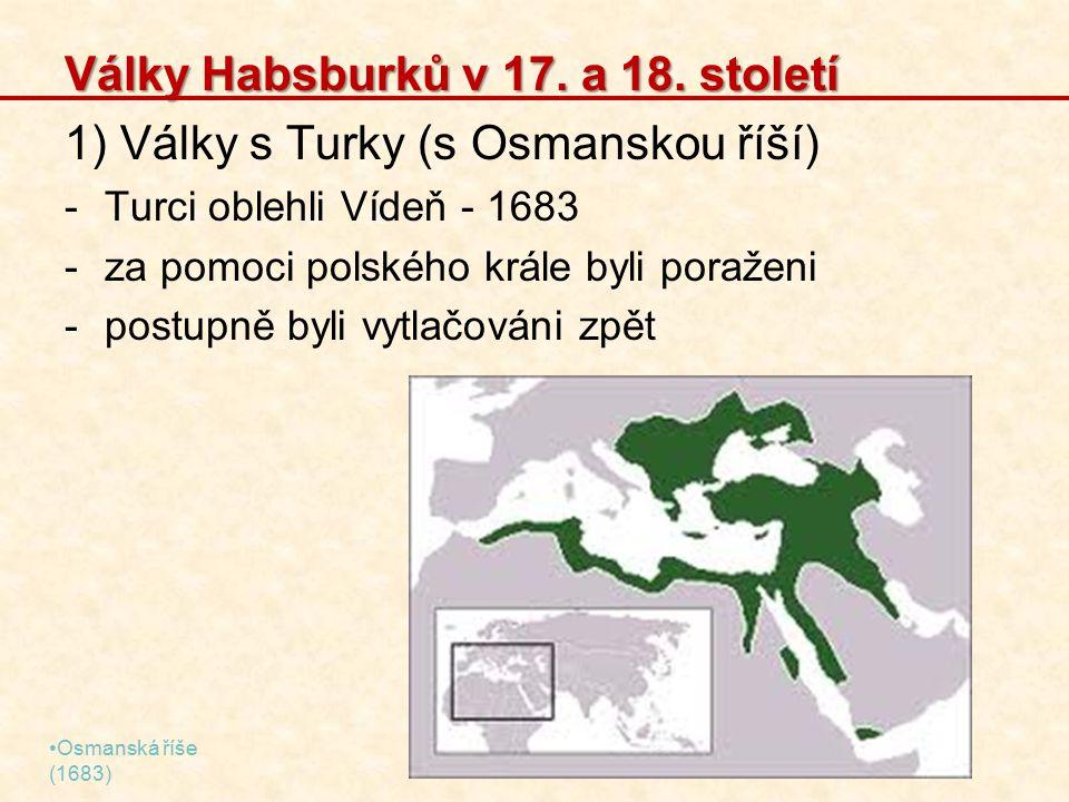 Války Habsburků v 17. a 18. století