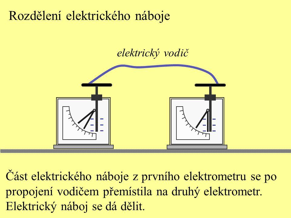 Rozdělení elektrického náboje