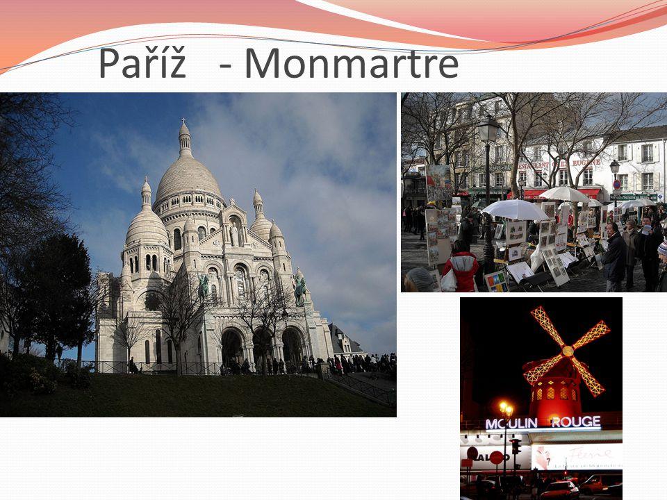 Paříž - Monmartre