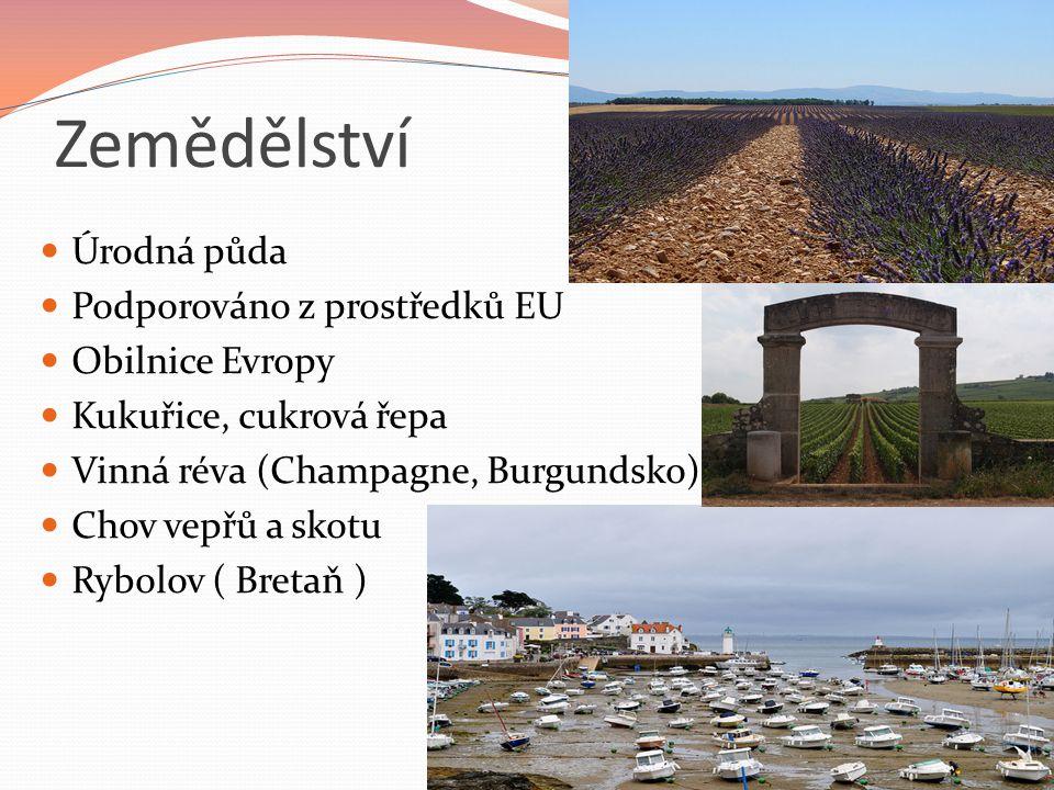 Zemědělství Úrodná půda Podporováno z prostředků EU Obilnice Evropy