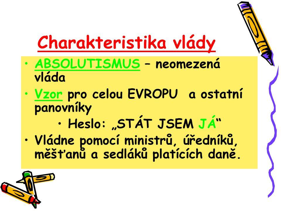 Charakteristika vlády