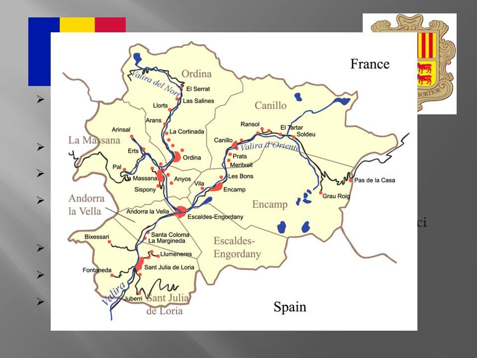 Obecně oficiální název: Andorrské knížectví