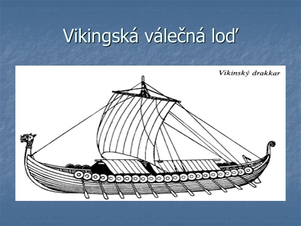 Vikingská válečná loď