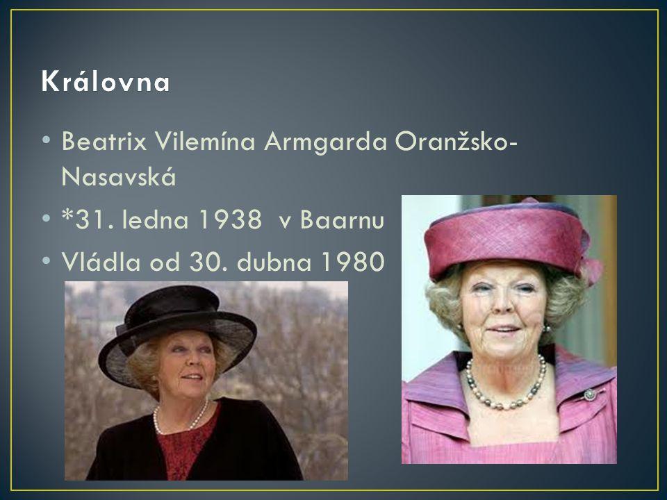 Královna Beatrix Vilemína Armgarda Oranžsko-Nasavská