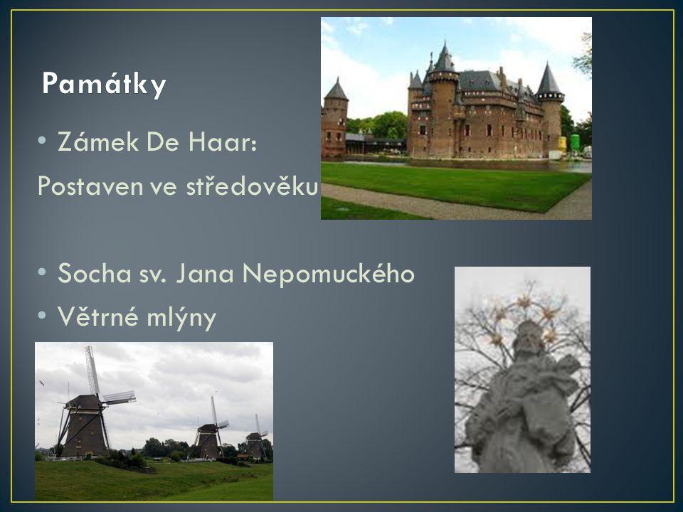 Památky Zámek De Haar: Postaven ve středověku