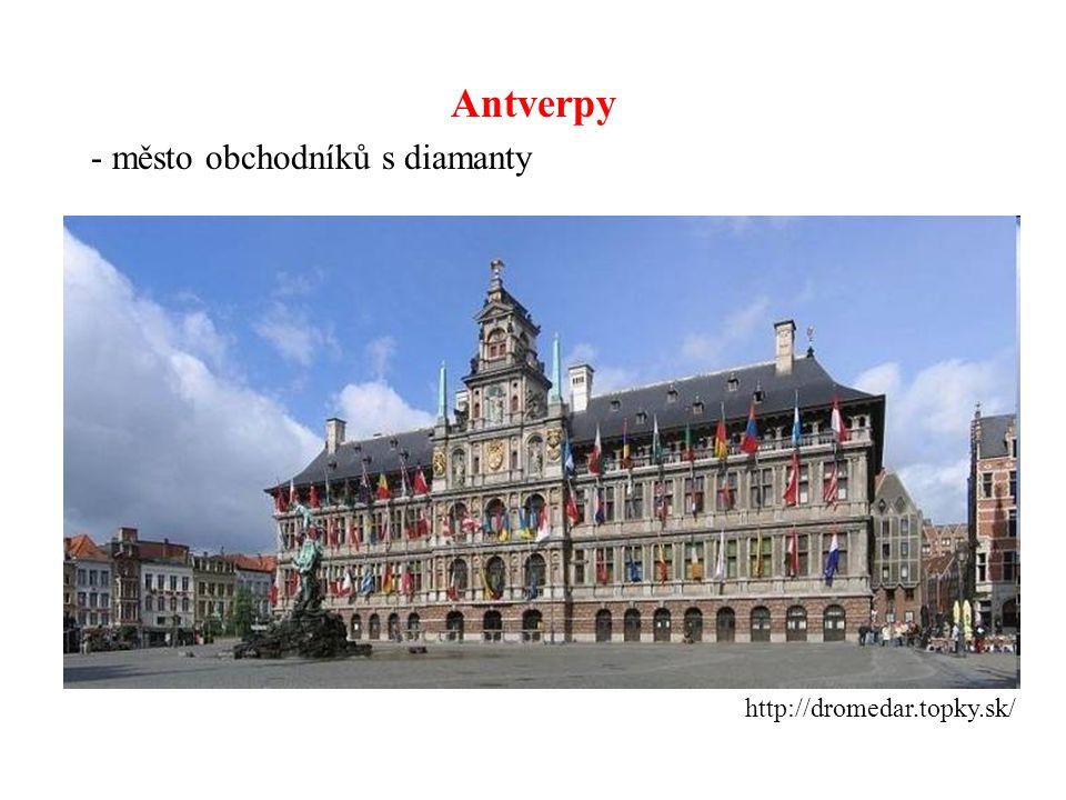 Antverpy - město obchodníků s diamanty http://dromedar.topky.sk/