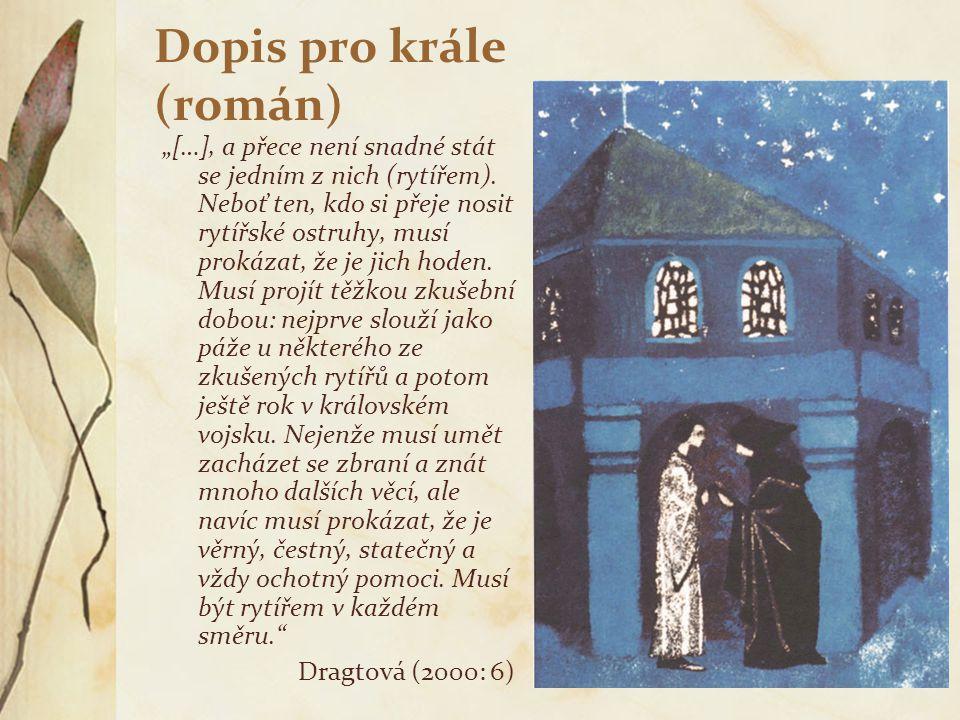Dopis pro krále (román)