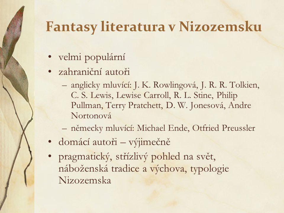 Fantasy literatura v Nizozemsku