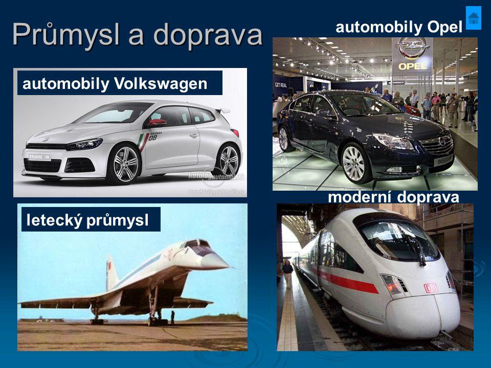 Průmysl a doprava automobily Opel automobily Volkswagen