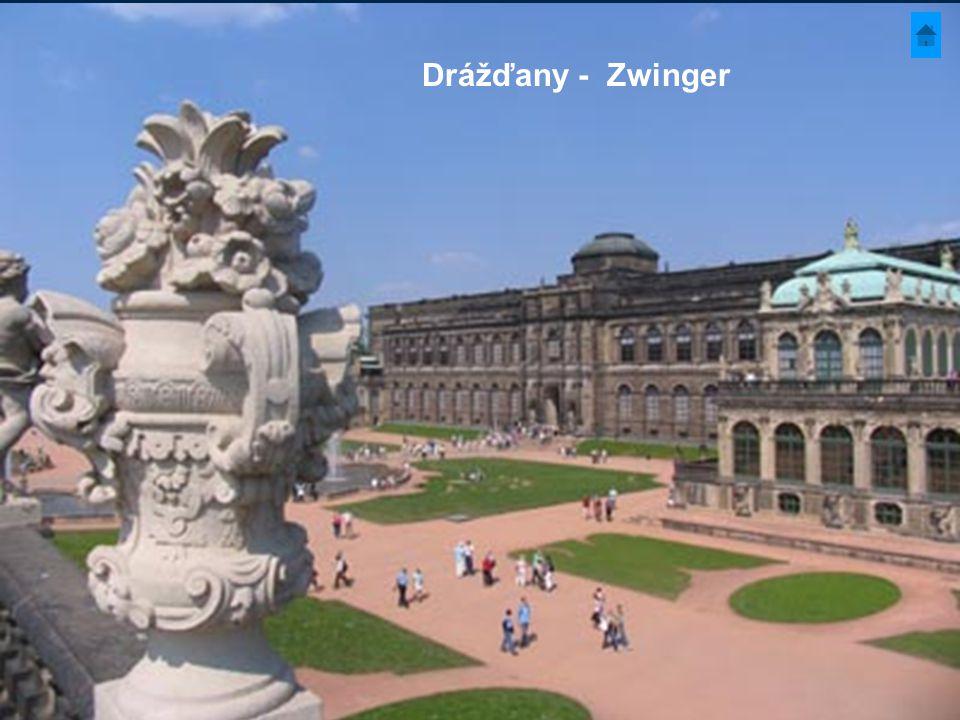 Drážďany - Zwinger