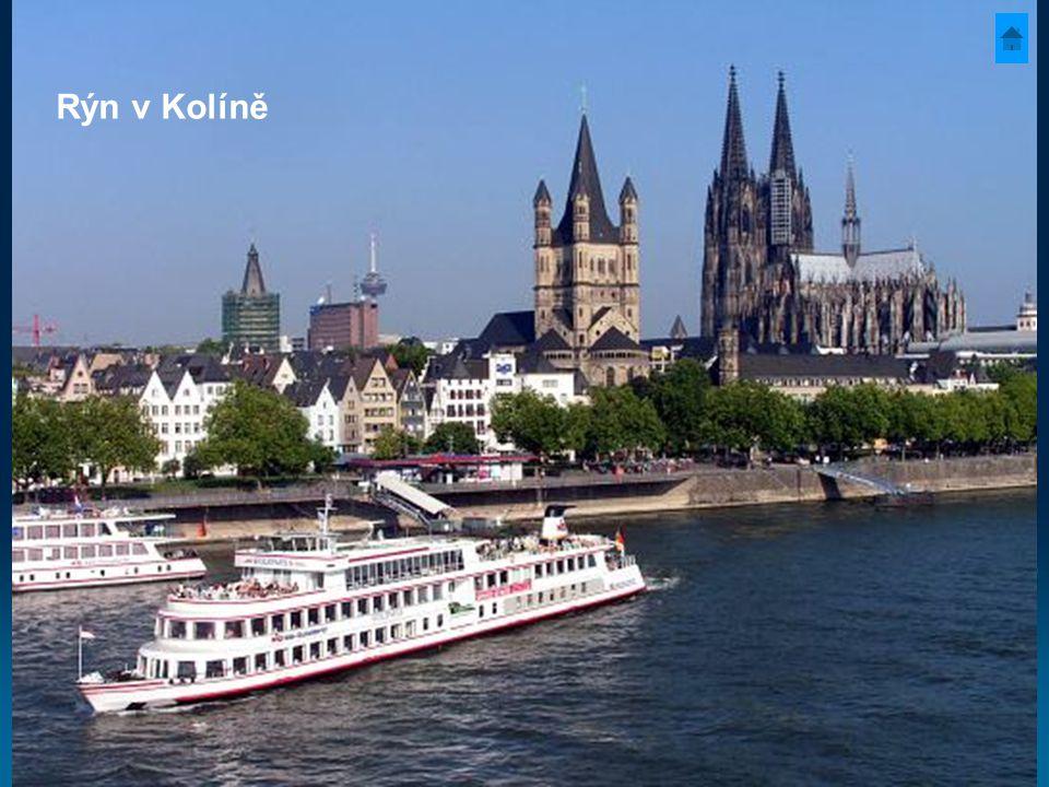 Rýn v Kolíně