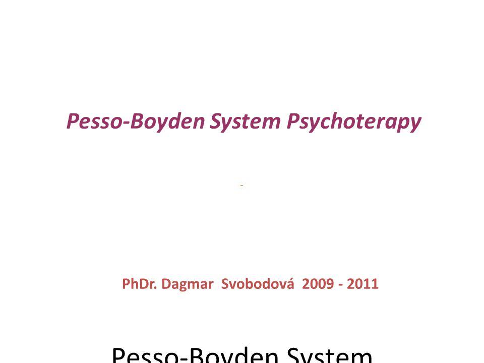 """Pesso-Boyden System Psychoterapy aneb """"strukturou k uzdravování"""