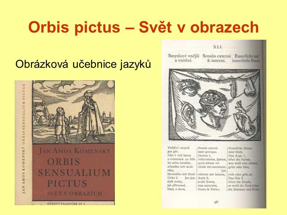 Orbis pictus – Svět v obrazech