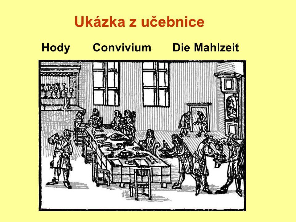 Ukázka z učebnice Hody Convivium Die Mahlzeit