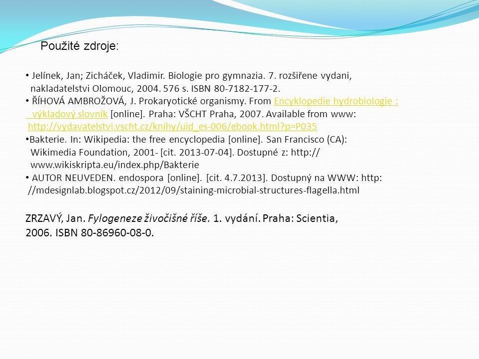 ZRZAVÝ, Jan. Fylogeneze živočišné říše. 1. vydání. Praha: Scientia,