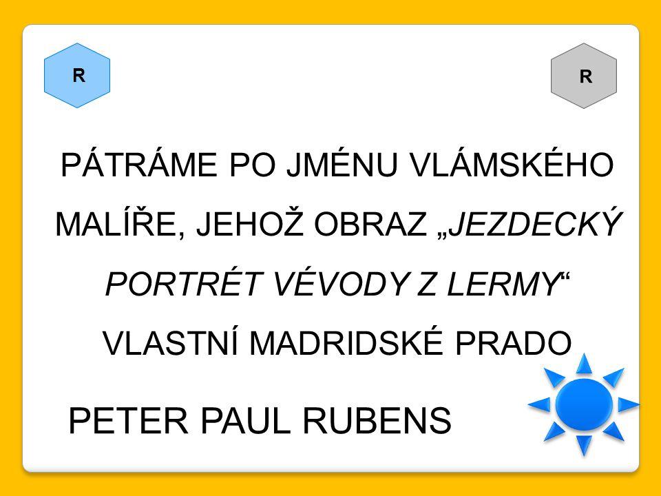 PETER PAUL RUBENS PÁTRÁME PO JMÉNU VLÁMSKÉHO