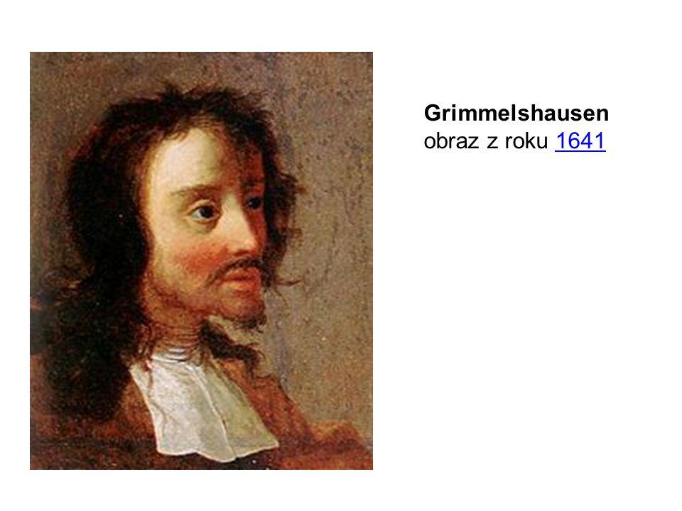 Grimmelshausen obraz z roku 1641