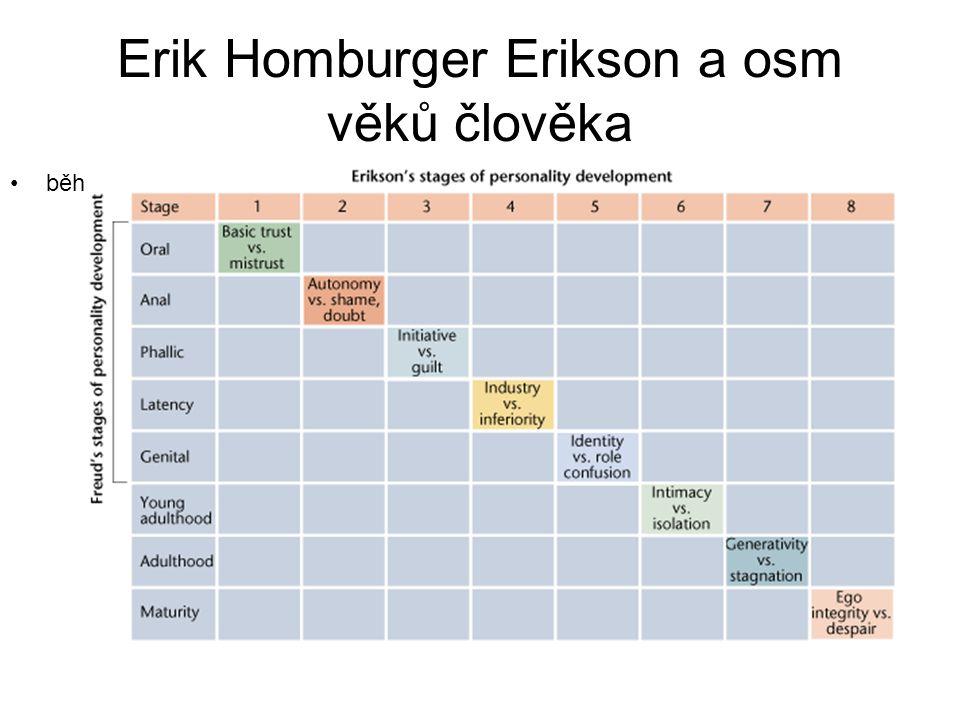 Erik Homburger Erikson a osm věků člověka