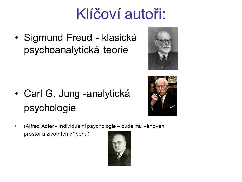 Klíčoví autoři: Sigmund Freud - klasická psychoanalytická teorie