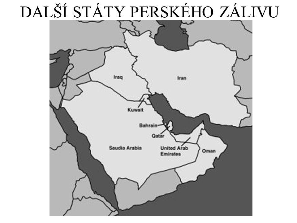 DALŠÍ STÁTY PERSKÉHO ZÁLIVU