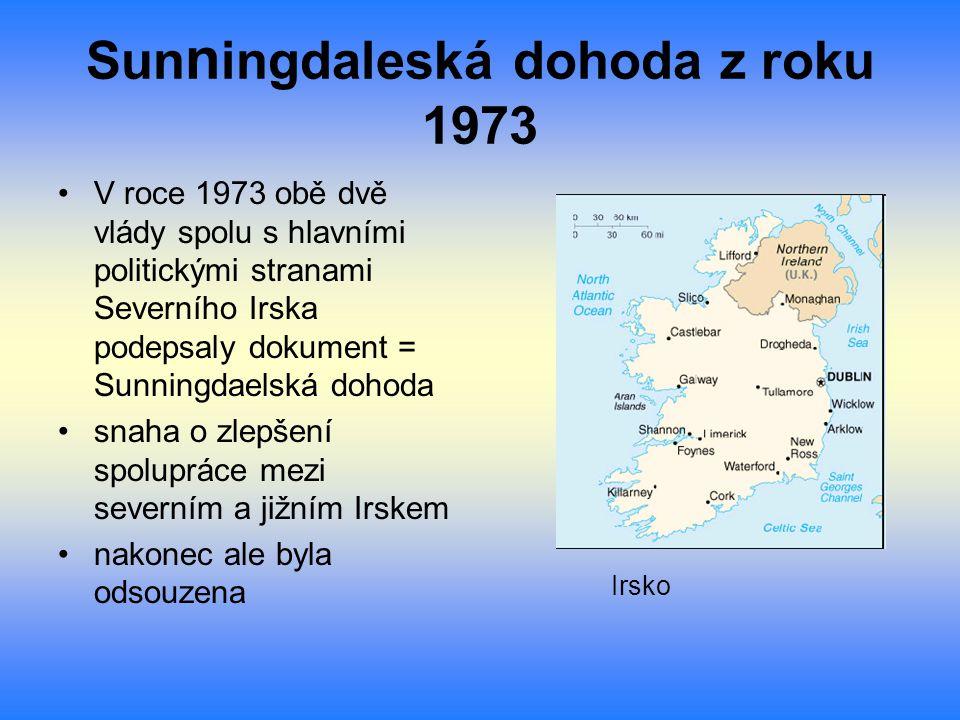Sunningdaleská dohoda z roku 1973