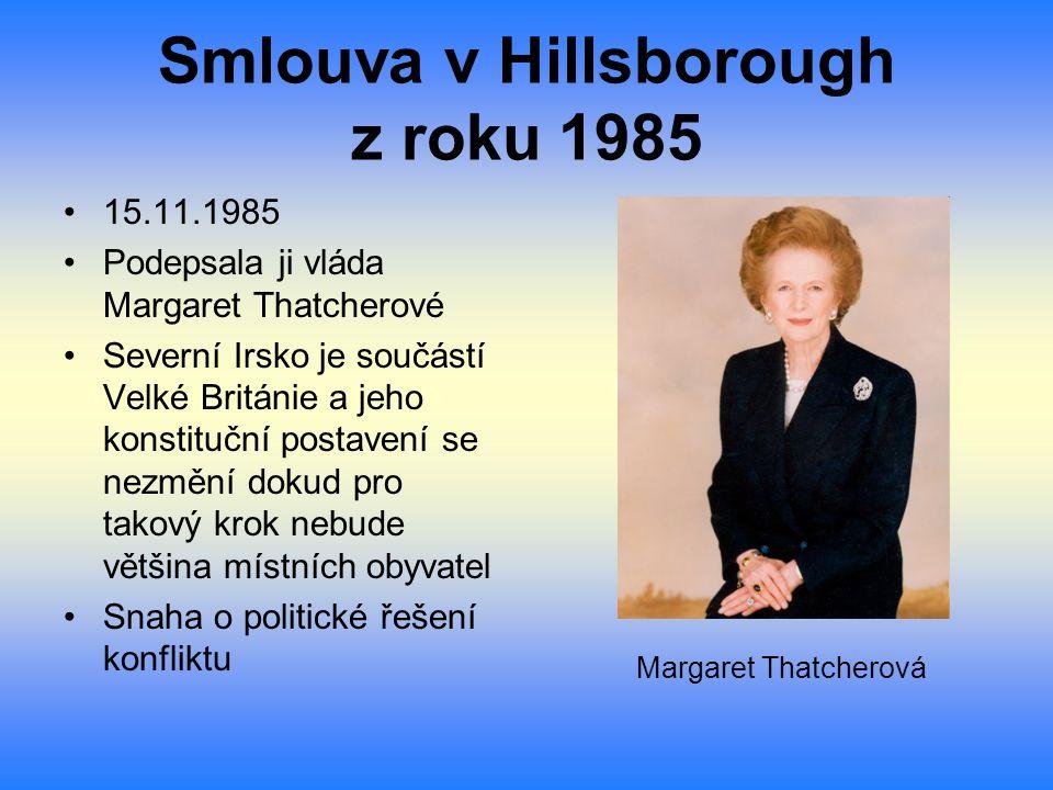 Smlouva v Hillsborough z roku 1985
