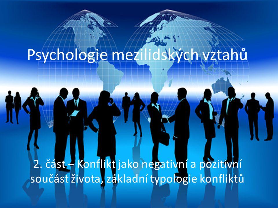 Psychologie mezilidských vztahů