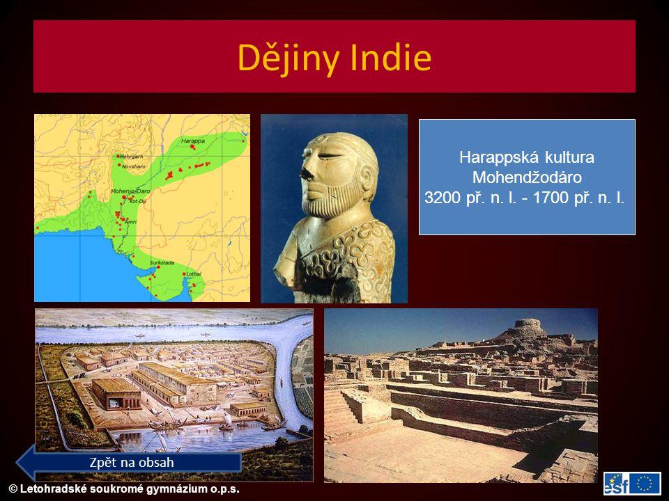 Dějiny Indie Harappská kultura Mohendžodáro