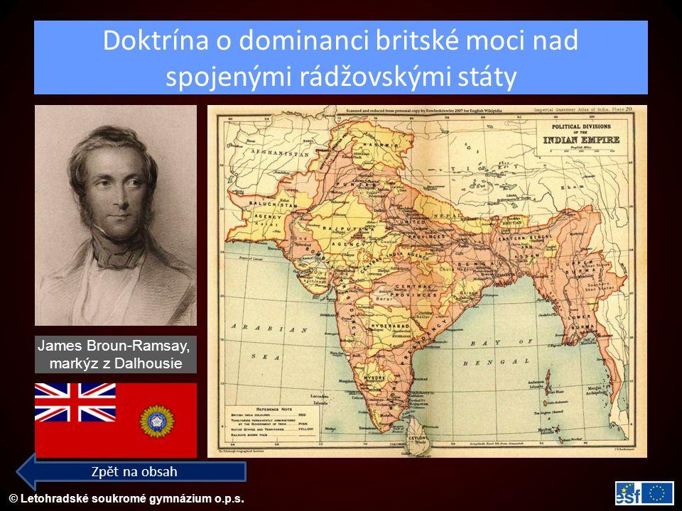 Doktrína o dominanci britské moci nad spojenými rádžovskými státy