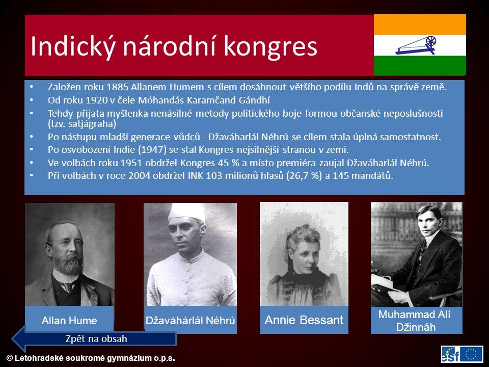 Indický národní kongres