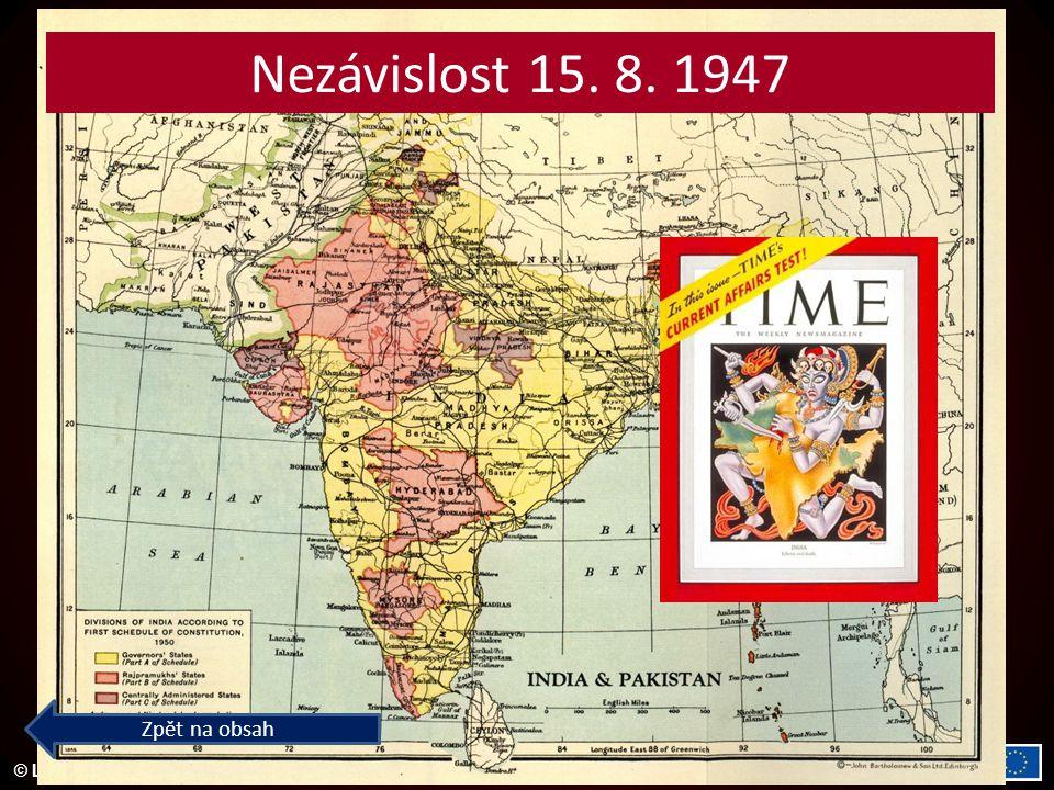 Nezávislost 15. 8. 1947 Zpět na obsah