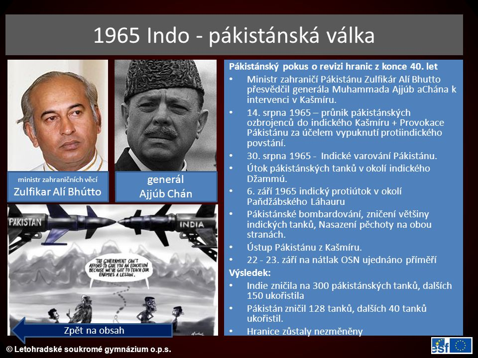 1965 Indo - pákistánská válka