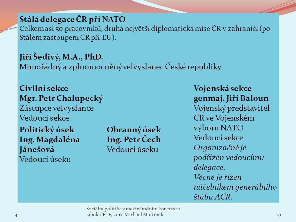Stálá delegace ČR při NATO
