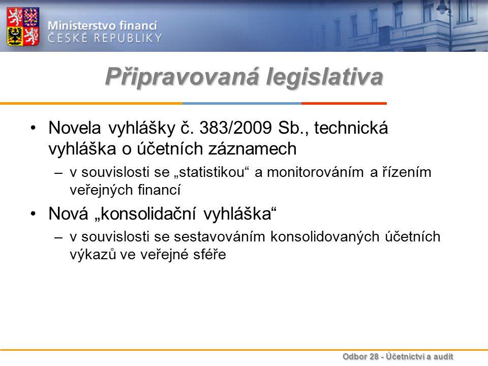 Připravovaná legislativa